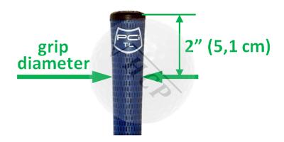 grip size diameter
