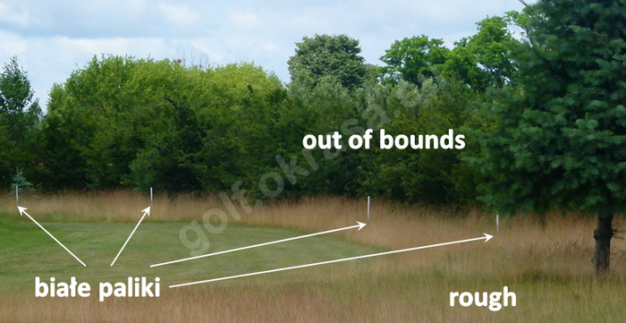Out of bounds, OB, OOB