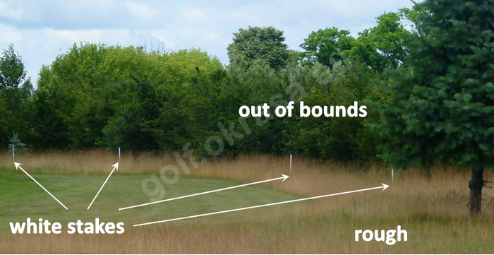 Out of bounds OB OOB