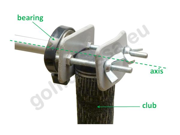 MOI pendulum holder