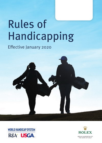 Handicap, Rules of Handicapping WHS in English