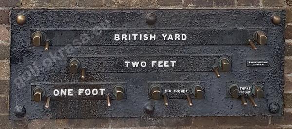 jednostki długości imperialne brytyjskie
