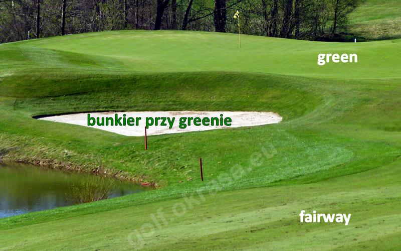 bunkier przy greenie