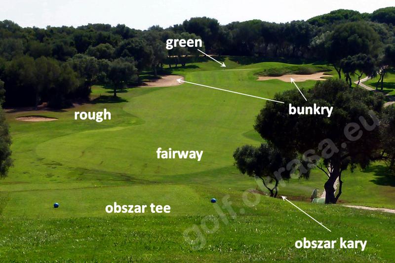 dołek - pole golfowe