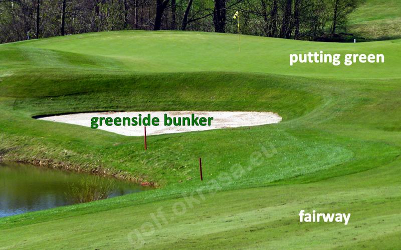 greenside bunker